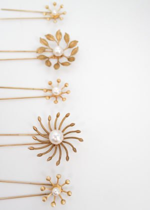 Harmonia Hairpins by Victoria Louise