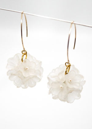 Flowerbomb Earrings by Victoria Louise