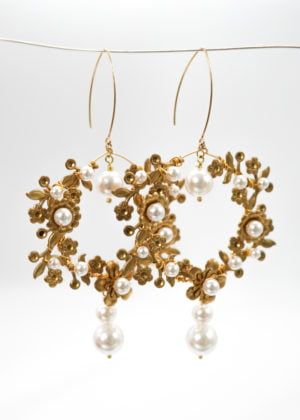 Opulent Statement Earrings by Victoria Louise