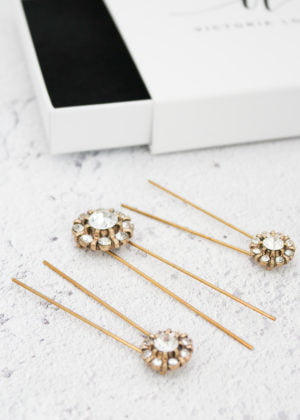 Hera Hairpins by Victoria Louise