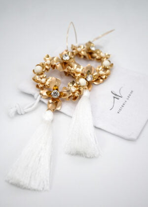 Athena Luxury Statement Earrings by Victoria Louise