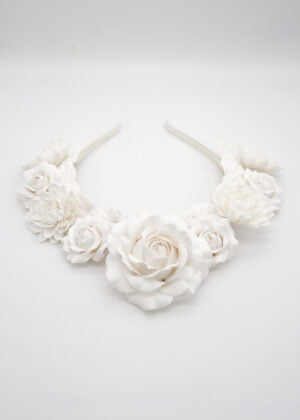 Statement Floral Crown by Victoria Louise