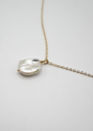Keshi Pearl Necklace by Victoria Louise