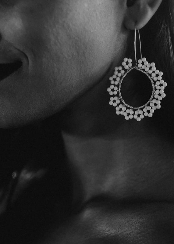 Anthriscus Earrings by Victoria Louise