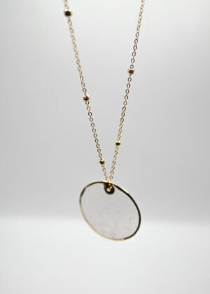 Freshwater Shell Necklace by Victoria Louise
