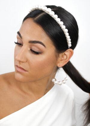 Classic Swarovski Pearl Headband by Victoria Louise