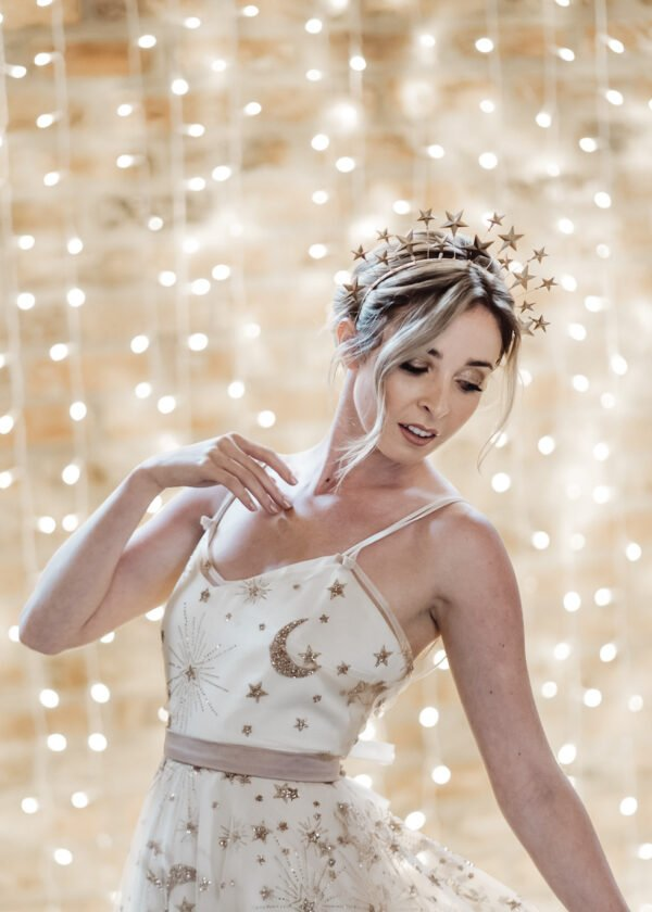 'Seeing Stars' Headpiece by Victoria Louise
