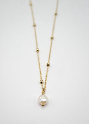 Mini Keshi Pearl Neclace by Victoria Louise